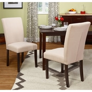 Darby Home Co Channahon Parson Chair (Set of 2); Beige