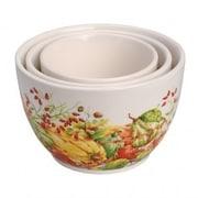 Darby Home Co Ashleaf 3 Piece Prep Ceramic Decorative Bowl Set
