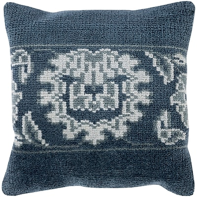 Darby Home Co Bryan 100pct Wool Throw Pillow Cover; 22'' H x 22'' W x 0.25'' D