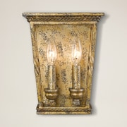 Darby Home Co Northfield 2-Light Wall Sconce; Luxe Gold
