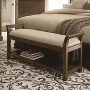 Darby Home Co Pond Brook Upholstered Bedroom Bench