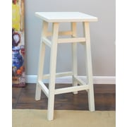 Darby Home Co Harbert 30'' Bar Stool; Antique White