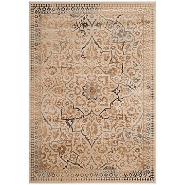 Darby Home Co Cyrus Beige Area Rug; 4' x 5'7''