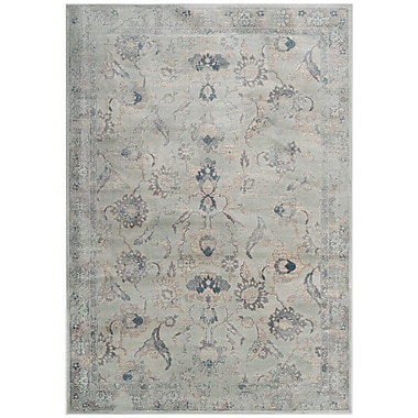 Darby Home Co Crestshire Blue Area Rug; 5'3'' x 7'6''