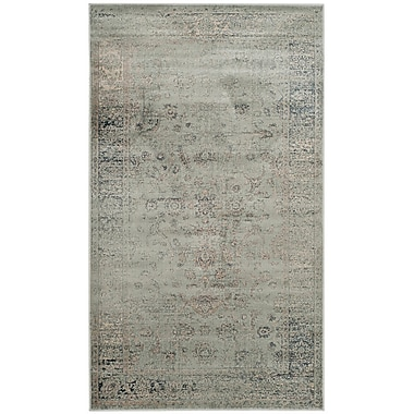 Darby Home Co Crestshire Blue Area Rug; 4' x 5'7''