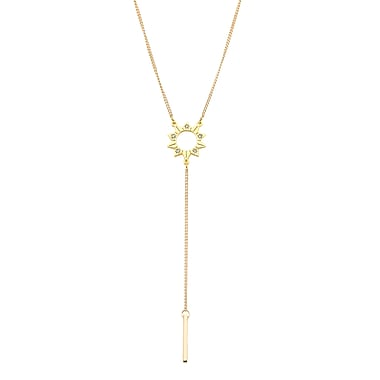 Foxy Originals Sun Y Necklace, Gold