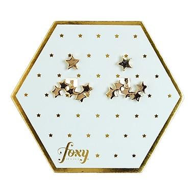 Foxy Originals Cosmic Earrings, Gold