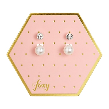 Foxy Originals Utopia Earrings, Silver
