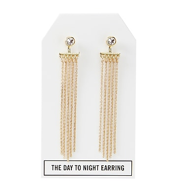 Foxy Originals Crystal Day to Night Earrings