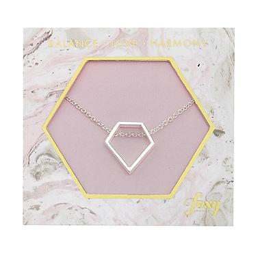 Foxy Originals Diamond Harmony Necklace, Silver