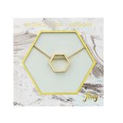 Foxy Originals – Collier Hexagon Harmony