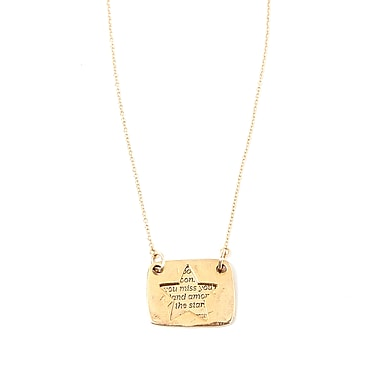 Foxy Originals Love Notes Necklaces, Star