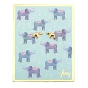 Foxy Originals – Boucle d'oreille Elephant