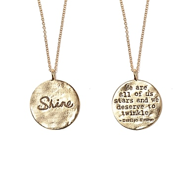 Foxy Originals Shine Necklace, Gold