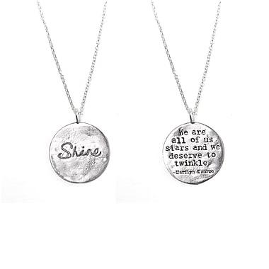 Foxy Originals Shine Necklace, Silver