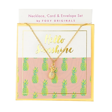 Foxy Originals Sweet Notes Hello Sunshine Necklaces