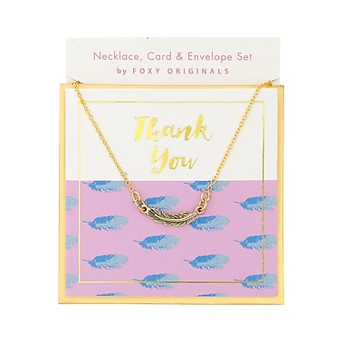 Foxy Originals Sweet Notes Thank You Necklaces