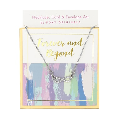 Foxy Originals Sweet Notes Forever & Beyond Necklace, Silver