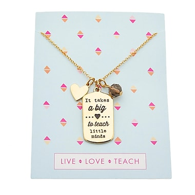 Foxy Originals Teacher Charm Necklaces