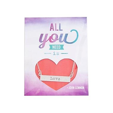 Foxy Originals With Love Love Necklace, Silver