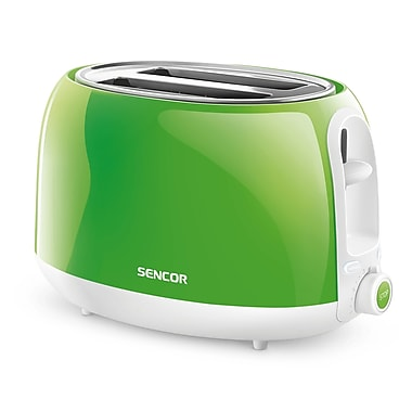 Sencor 2-Slice Electric Toaster, Green (STS 2701GR-NAA1)