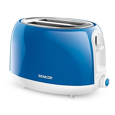 Sencor 2-Slice Electric Toaster, Blue (STS 2702BL-NAA1)