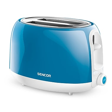 Sencor 2-Slice Electric Toaster, Turquoise (STS 2707TQ-NAA1)
