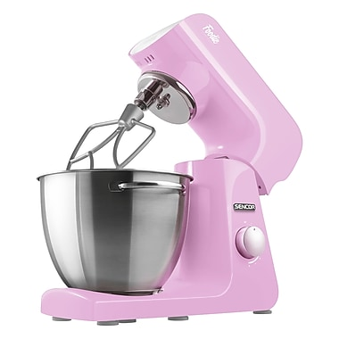 Sencor 8-Speed Stand Mixer, Cherry Blossom Pink (STM 48RS-NAB1)
