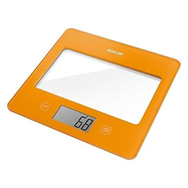 Sencor Digital Kitchen Scale with LCD Display, Orange (SKS 5023OR-NA)