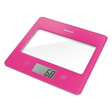 Sencor Digital Kitchen Scale with LCD Display, Rose (SKS 5028RS-NA)