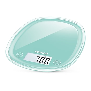 Sencor Digital Kitchen Scale with LCD Display, Mint Green (SKS 31GR-NA)