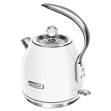 Sencor 1.2 L Electric Kettle, Snowdrop White (SWK 40WH-NAB1)