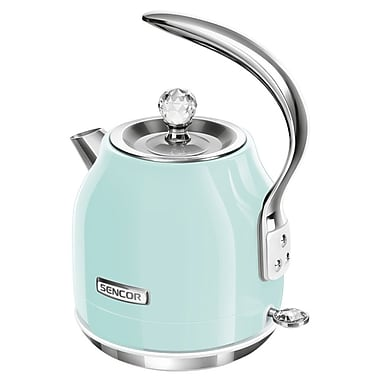 Sencor 1.2 L Electric Kettle, Mint Green (SWK 41GR-NAB1)
