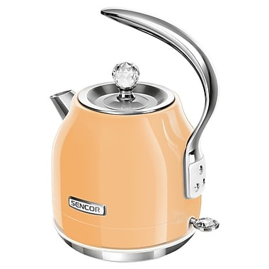 Sencor 1.2 L Electric Kettle, Peach Orange (SWK 43OR-NAB1)