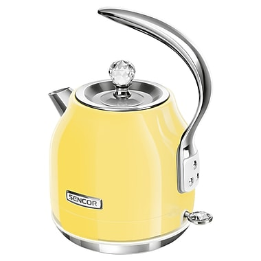 Sencor 1.2 L Electric Kettle, Sunflower Yellow (SWK 46YL-NAB1)