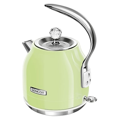 Sencor 1.2 L Electric Kettle, Lime Green (SWK 47GG-NAB1)