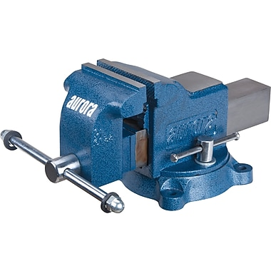 Aurora Tools Heavy-Duty Bench Vise, 4-1/2