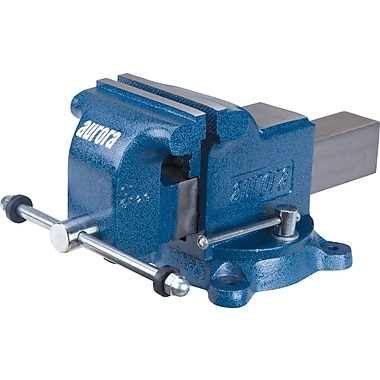 Aurora Tools Heavy-Duty Bench Vise, 5-1/2