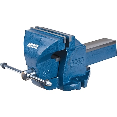 Aurora Tools Heavy-Duty Bench Vise, 8-1/2