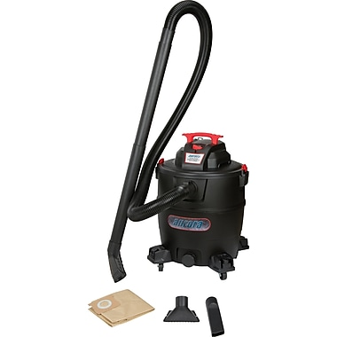 Aurora Tools Industrial Wet/Dry Poly Vacuum, 17 US Gal.(60.5 Litres), Wet-Dry, Polypropylene (SDN119)