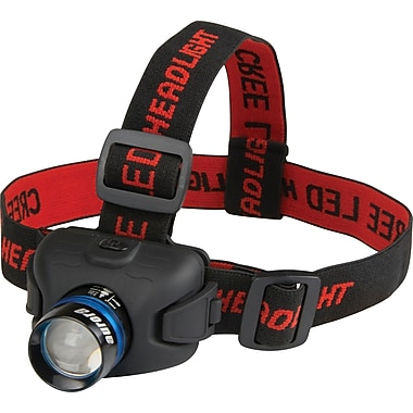Aurora Tools LED Headlamps, Black, 120 lm (High), 6-Hour, 6/Pack (XE887)