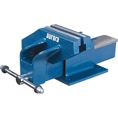 Aurora Tools Off-Set Bench Fixed Vise, 6