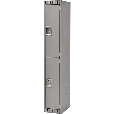 Kleton Ready to Assemble Steel Lockers, 2 Tiers, Bank of: 1 (FL366)