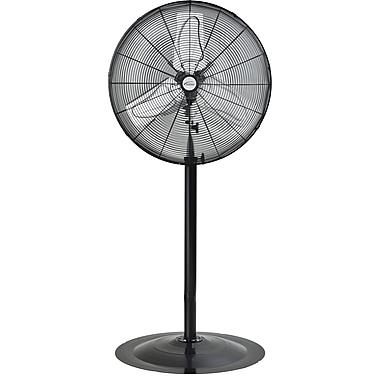 Matrix Industrial Oscillating Pedestal Fan, Pedestal, 24