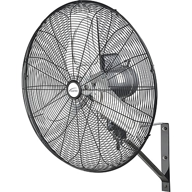 Matrix Industrial Oscillating Wall Fan, Wall Mounted, 24