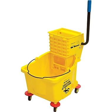 RMP Mop Bucket and Wringer, 9.5 gal, Yellow (JG811)