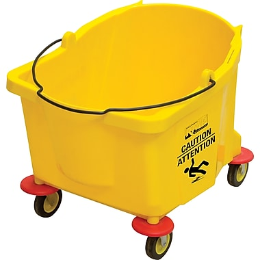 RMP Mop Bucket, 9.5 gal, Yellow (JG812)