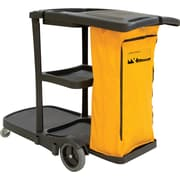 "RMP Multi-Functional Cart, 20"" x 38"", Black (JG813)"