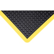Zenith Safety Anti-Fatigue Dome Mat, 3' x 4', Yellow (SDL862)
