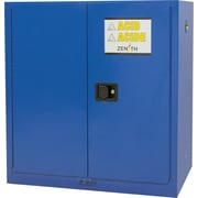 "Zenith Safety Corrosive Liquids Cabinet, 1-Shelf, 30 gal., 43"" x 44"" (SDN654)"